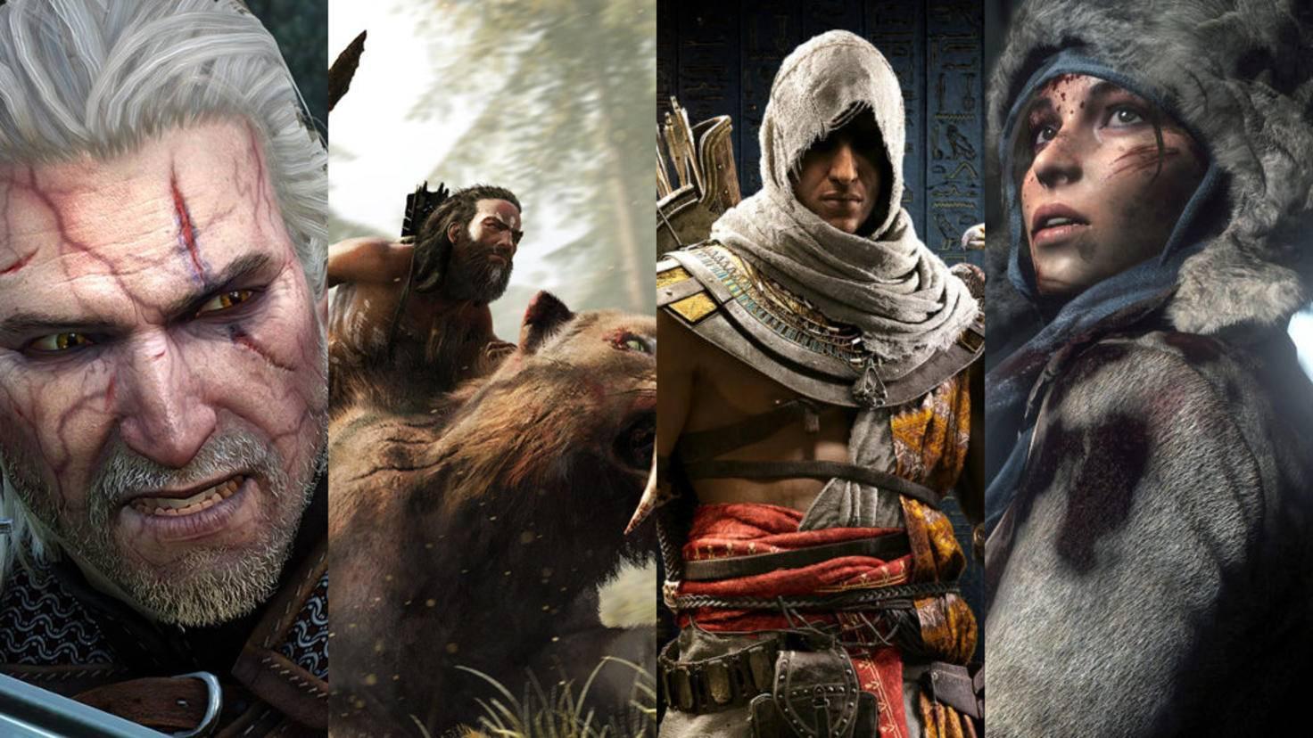 """Von """"The Witcher"""" bis """"Tomb Raider"""" – für den PC gibt es einige gute Alternativen zu """"Horizon Zero Dawn""""."""
