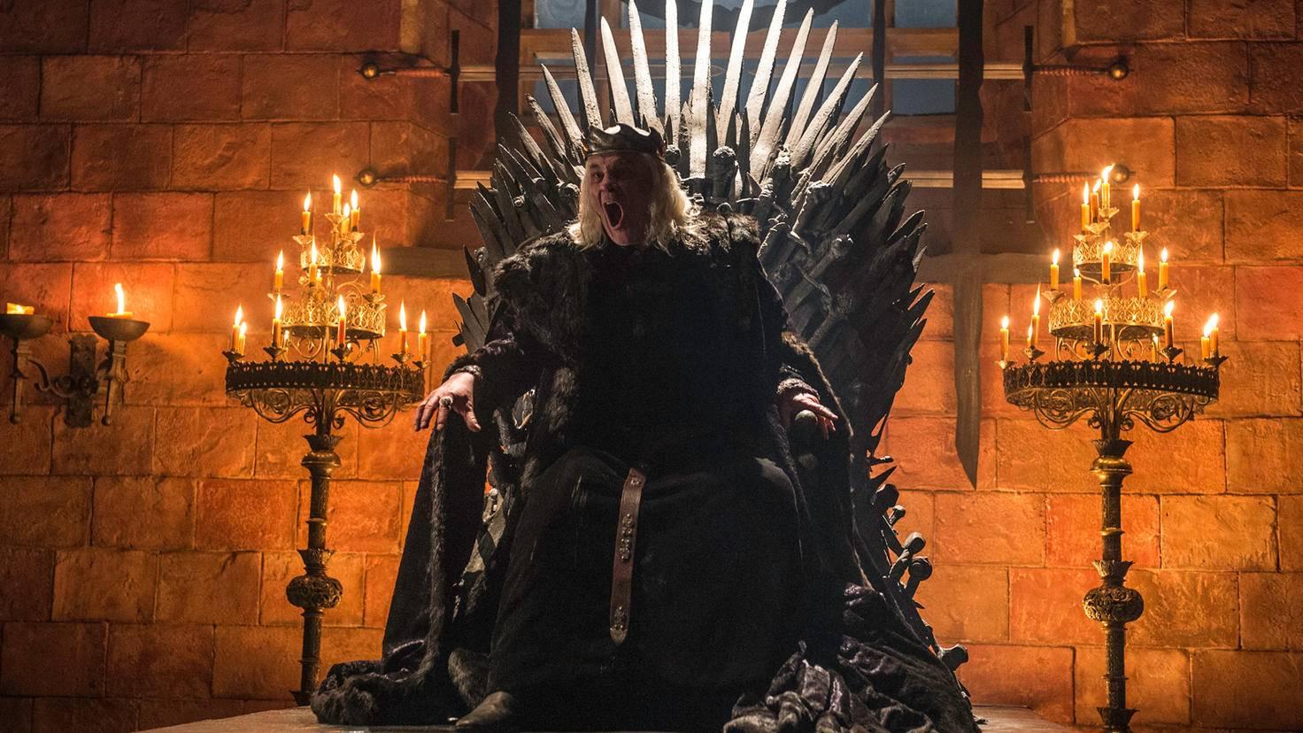 """Ob wir in Staffel 8 von """"Game of Thrones"""" den Irren König noch mal in einem Rückblick zu sehen bekommen?"""