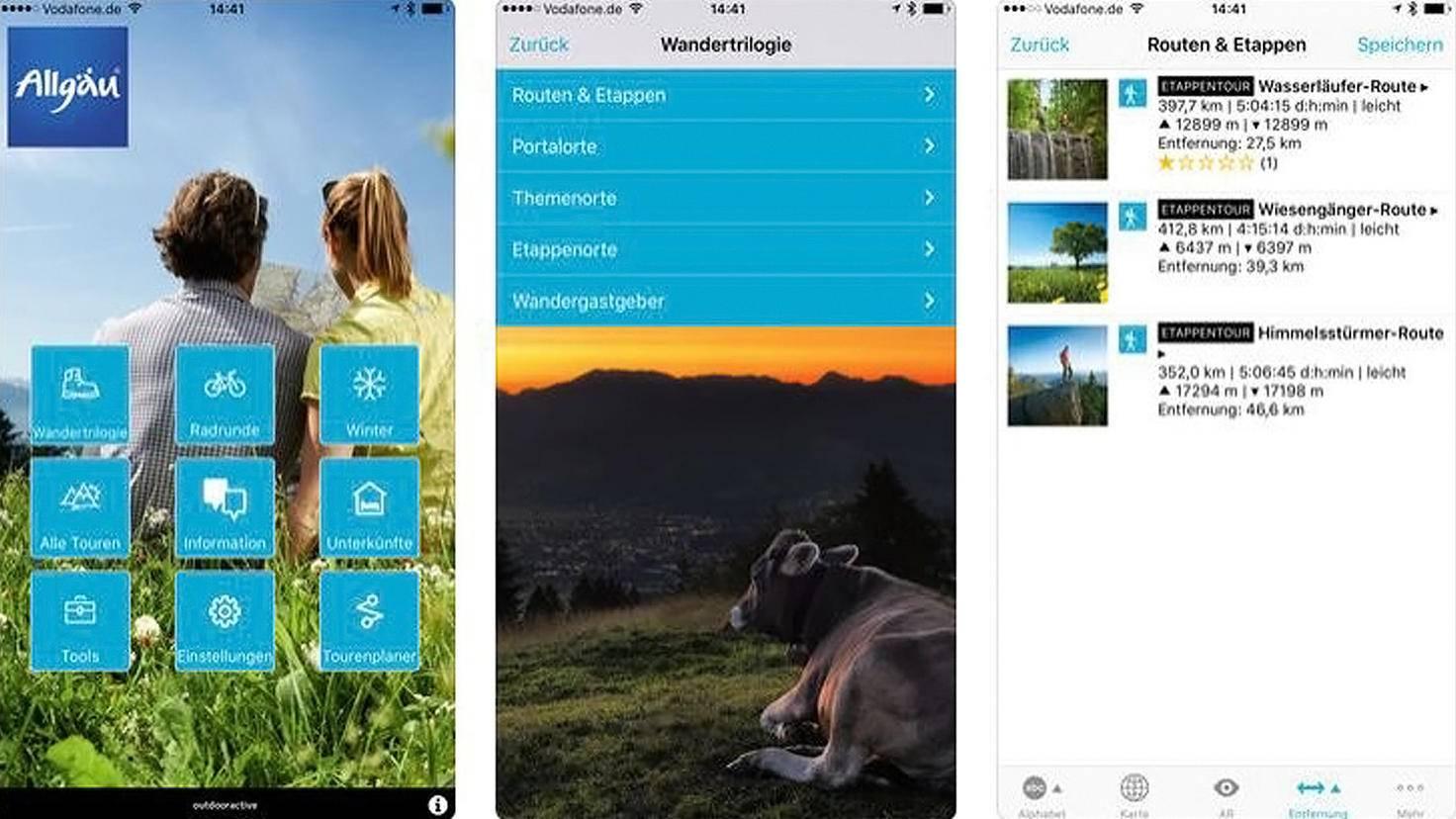 Allgäu App-iTunes Outdooractive GmbH und Co KG