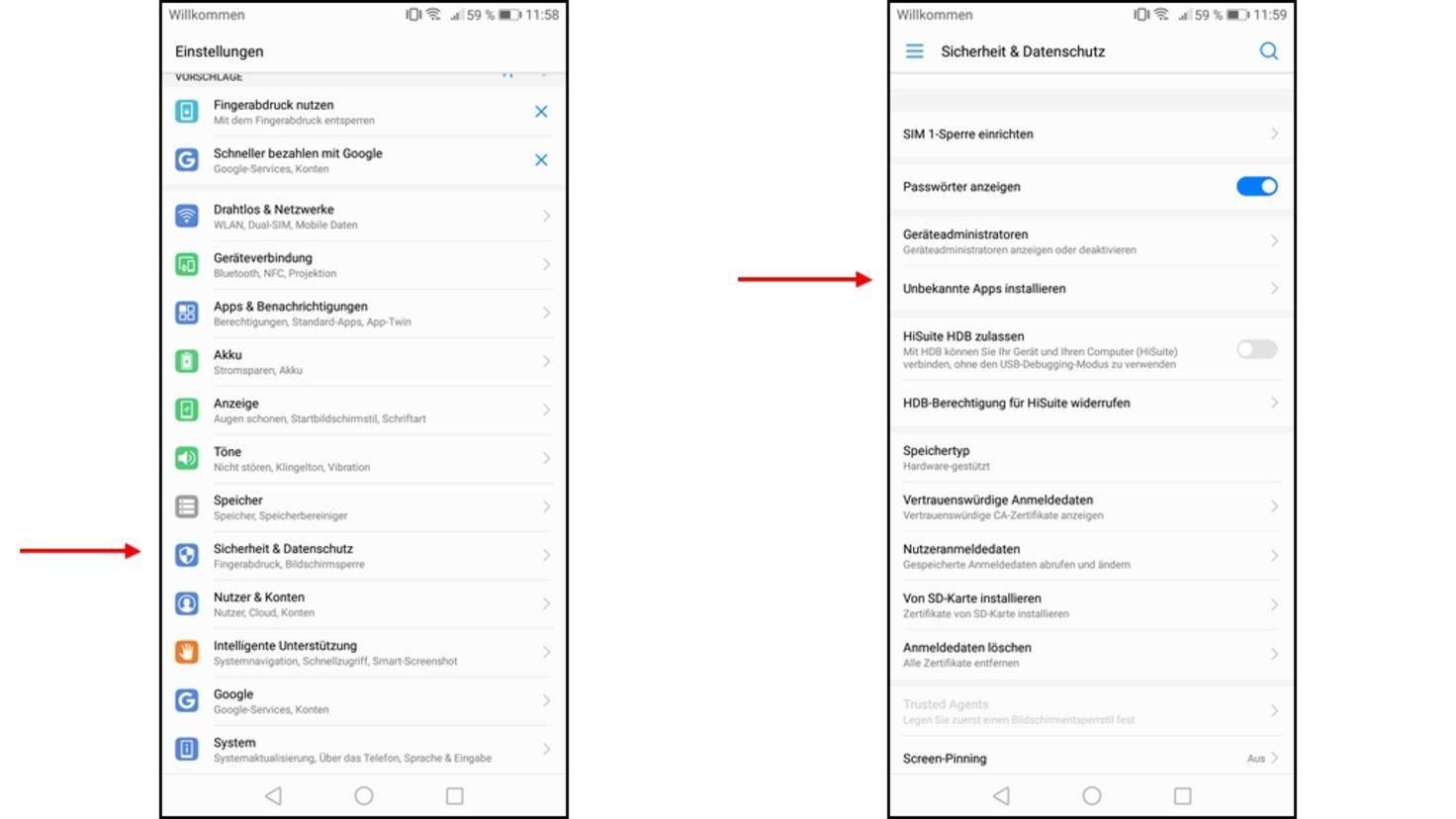 Android-Sicherheit