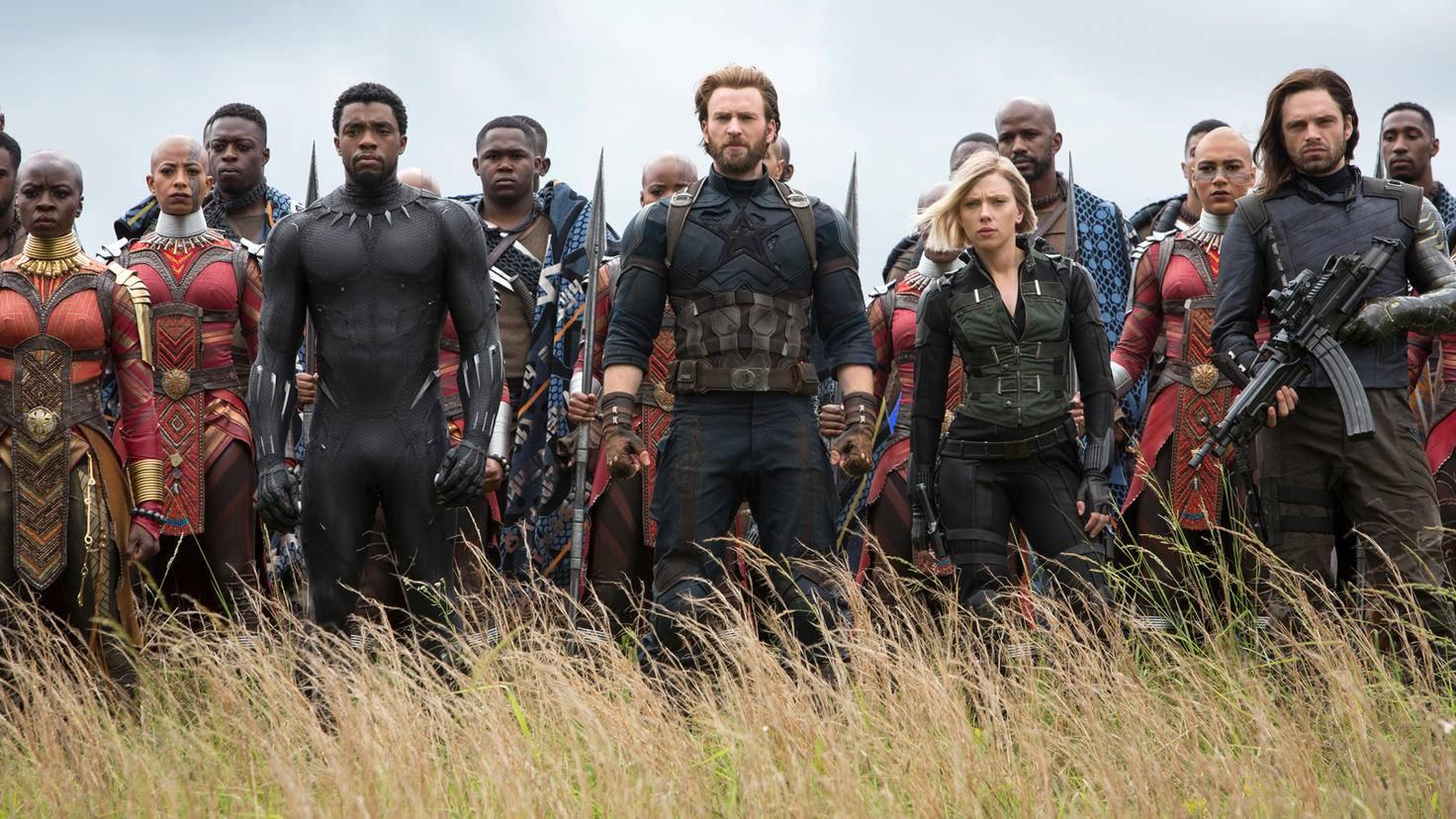 """In """"Avengers: Infinity War"""" treffen unzählige Marvel-Helden aufeinander."""