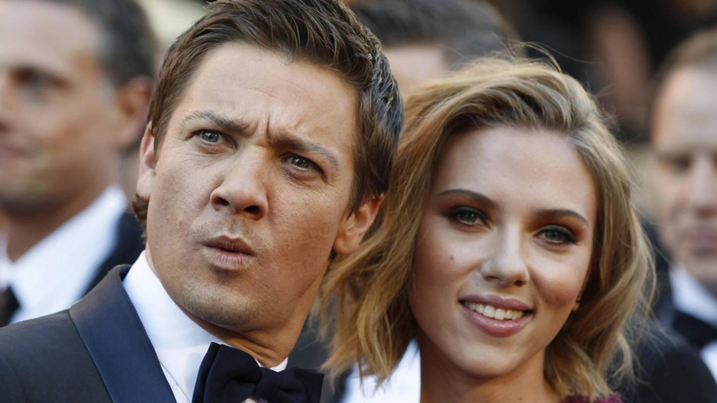 Avengers-Stars Jeremy Renner und Scarlett Johansson
