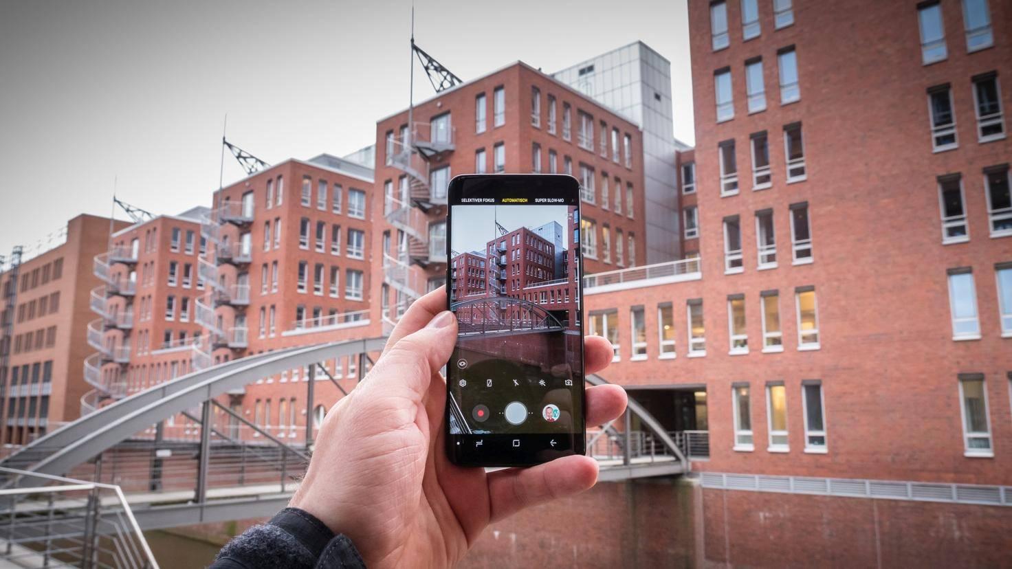 Galaxy S9 Draußen 1