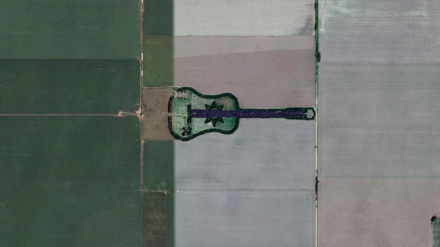 Googel-Earth-Gitarre