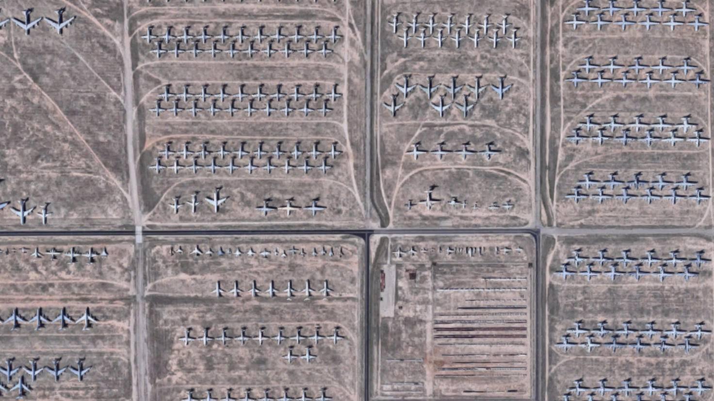 Google-Earth-Flugzeug-Friedhof