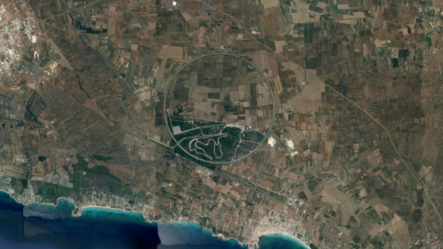 Google-Earth-Rennstrecke