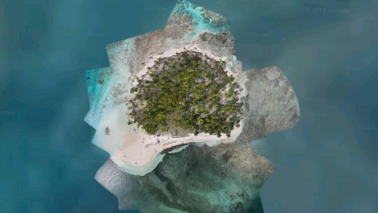 Google-Earth-San-Blas-Inseln