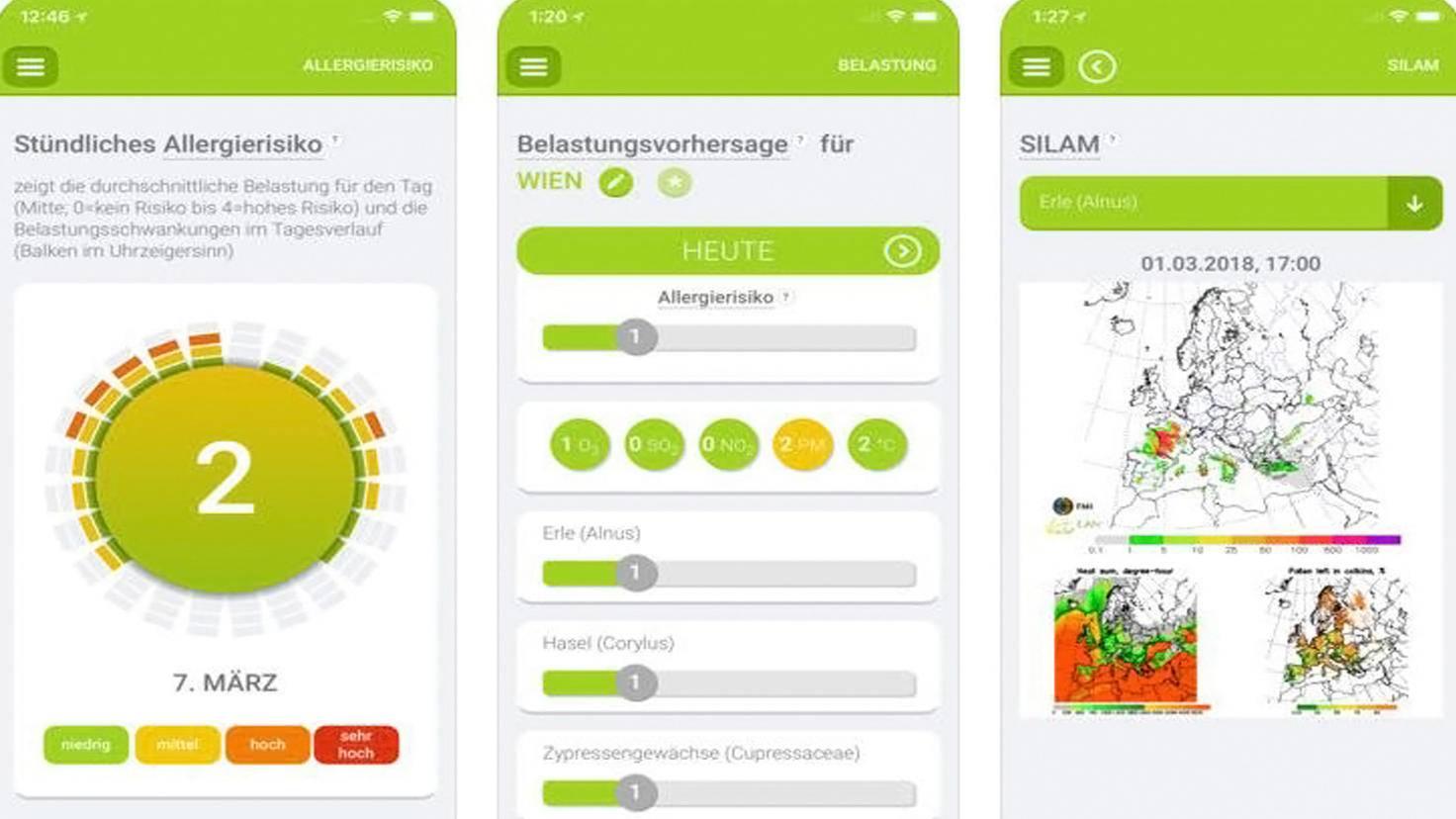 Pollen-App-iTunes-Screencode GmbH