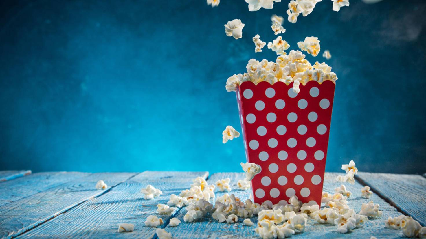 Popcorn Film gucken