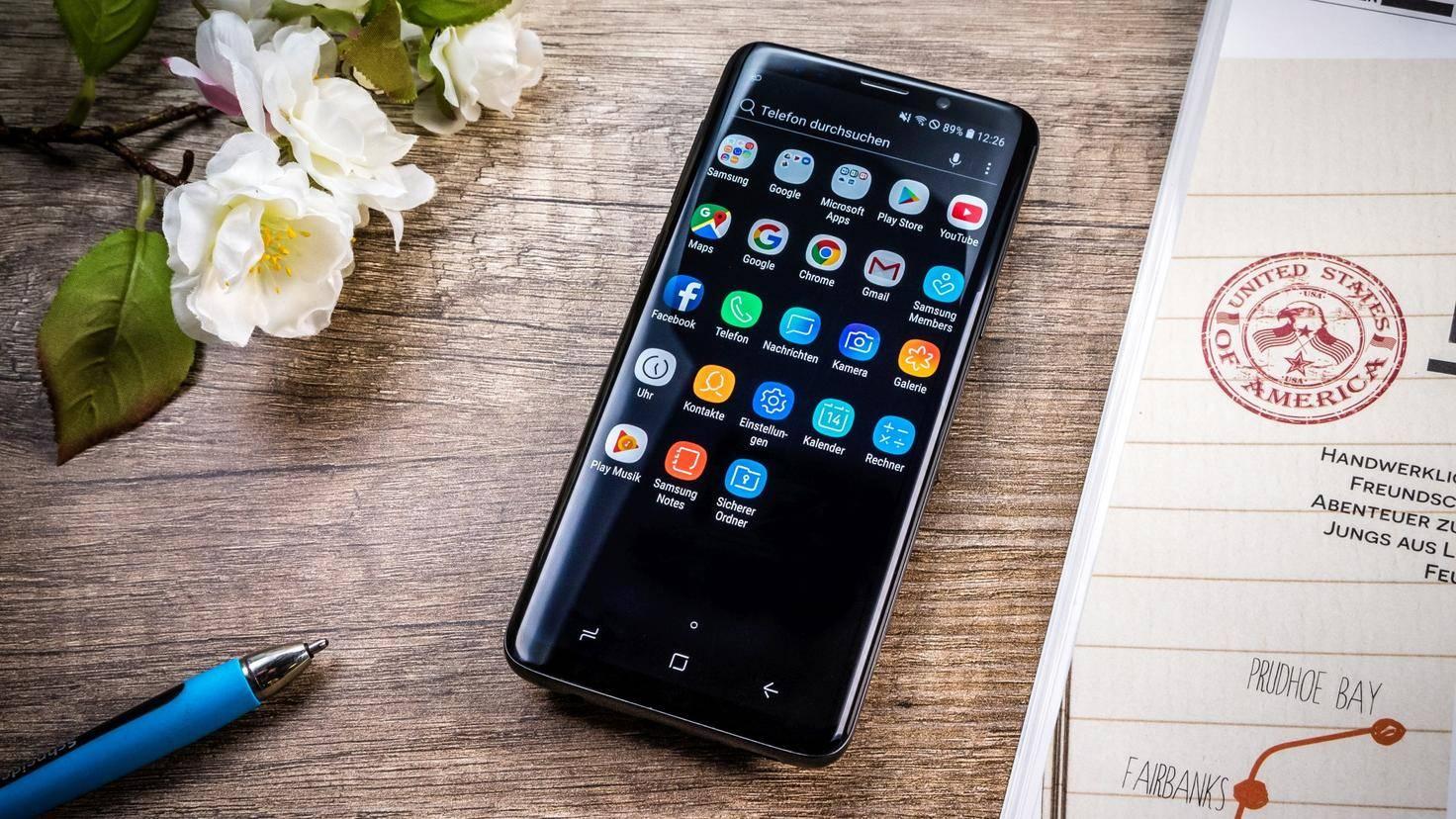 Samsung-Galaxy-S9-Vorderseite