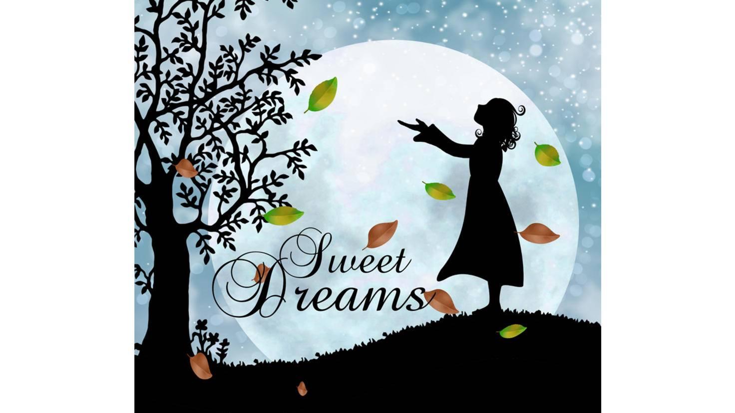 Verträumte Bilder vorm Einschlafen sorgen sicher auch für süße Träume.