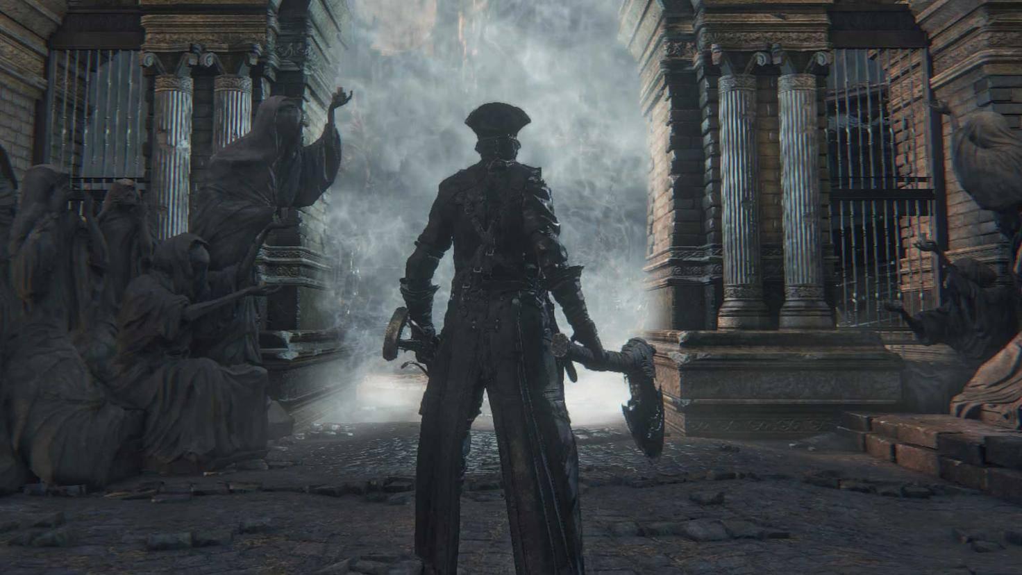 """Spiele aus dem PS-Plus-Programm (hier: das Rollenspiel """"Bloodborne"""") können ebenfalls geteilt werden."""