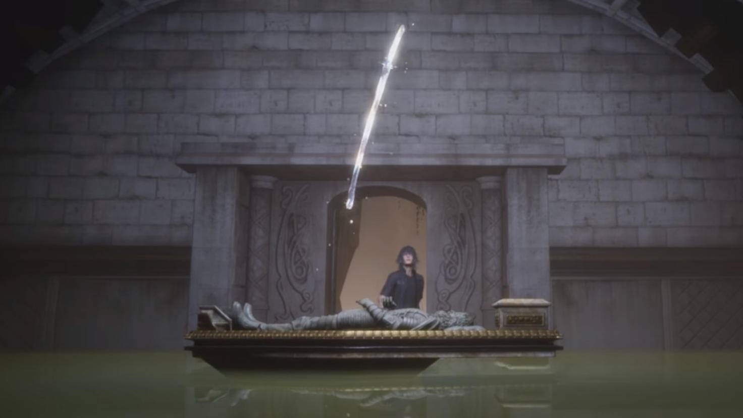 Das elegante Katana des Kriegers muss erst einem fiesen Boss entrungen werden.