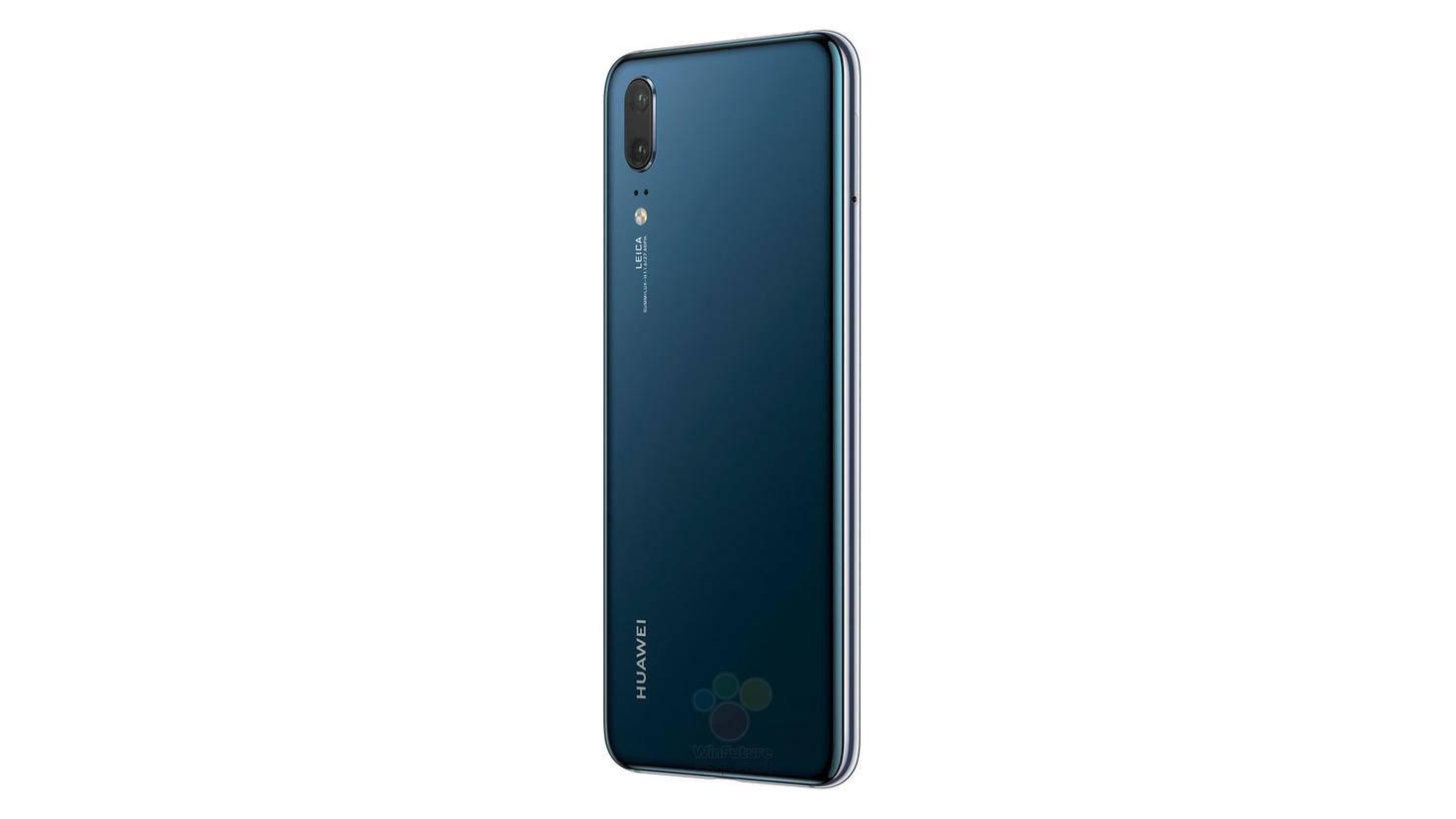 So soll das Huawei P20 aussehen.