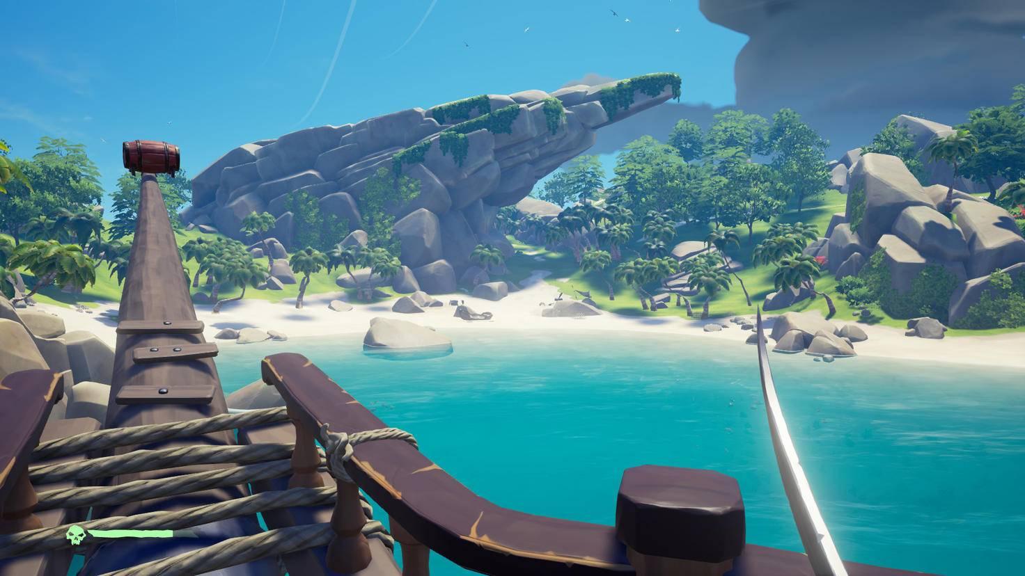 Wem das zu anstrengend ist, der kann auch auf malerischen Inseln entspannen ...