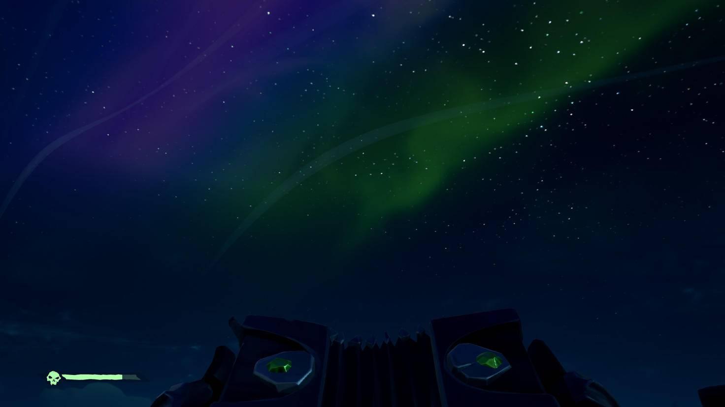 Naturschönheit: Unter Polarlichtern macht das Segeln besonders viel Spaß.
