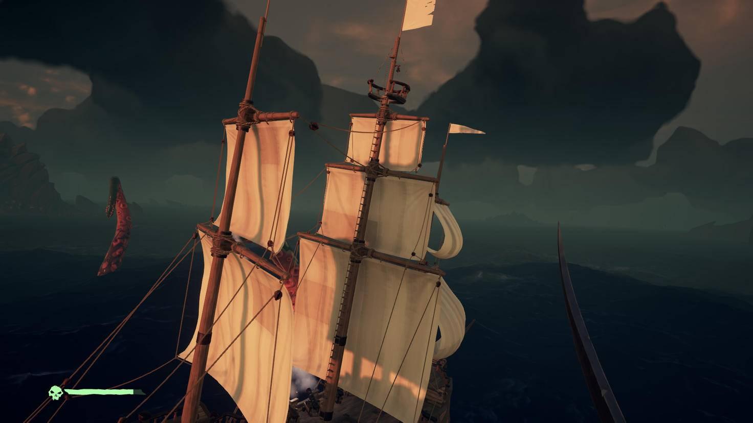 In den Fängen des Ungeheuers: Plötzlich sehe ich das Schiff von außen, ...