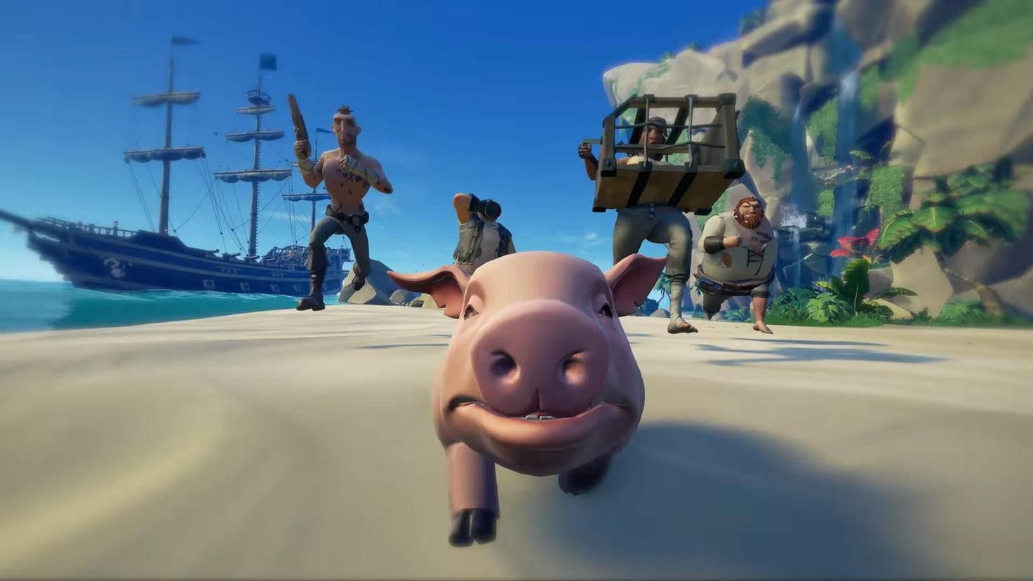 """In """"Sea of Thieves"""" ist Teamwork der Schlüssel zum Erfolg – allerdings nur auf PC und Xbox One."""
