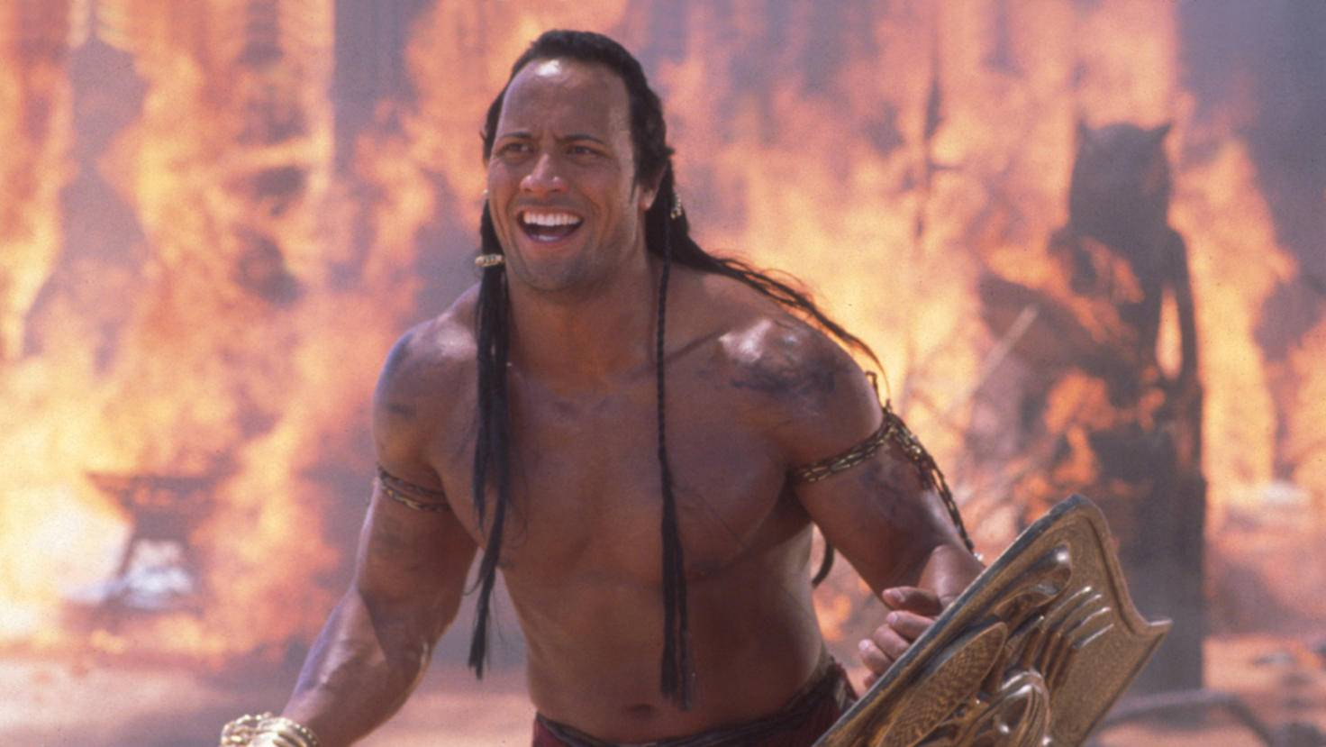 Dwayne Johnson Mummy Returns