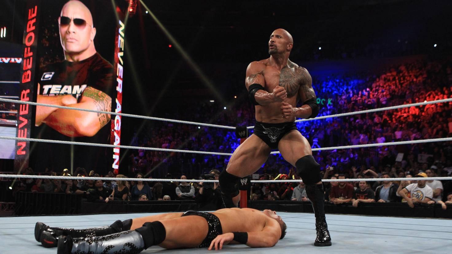 Dwayne Johnson-WrestleMania 28296000 picture alliance 2011