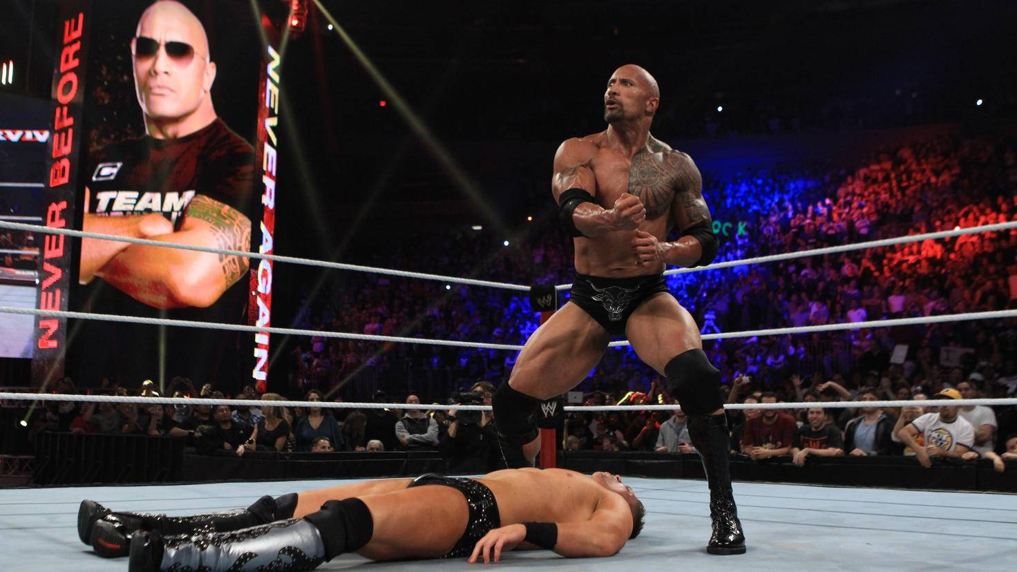Dwayne Johnson-WrestleMania 28296000 picture alliance 2011