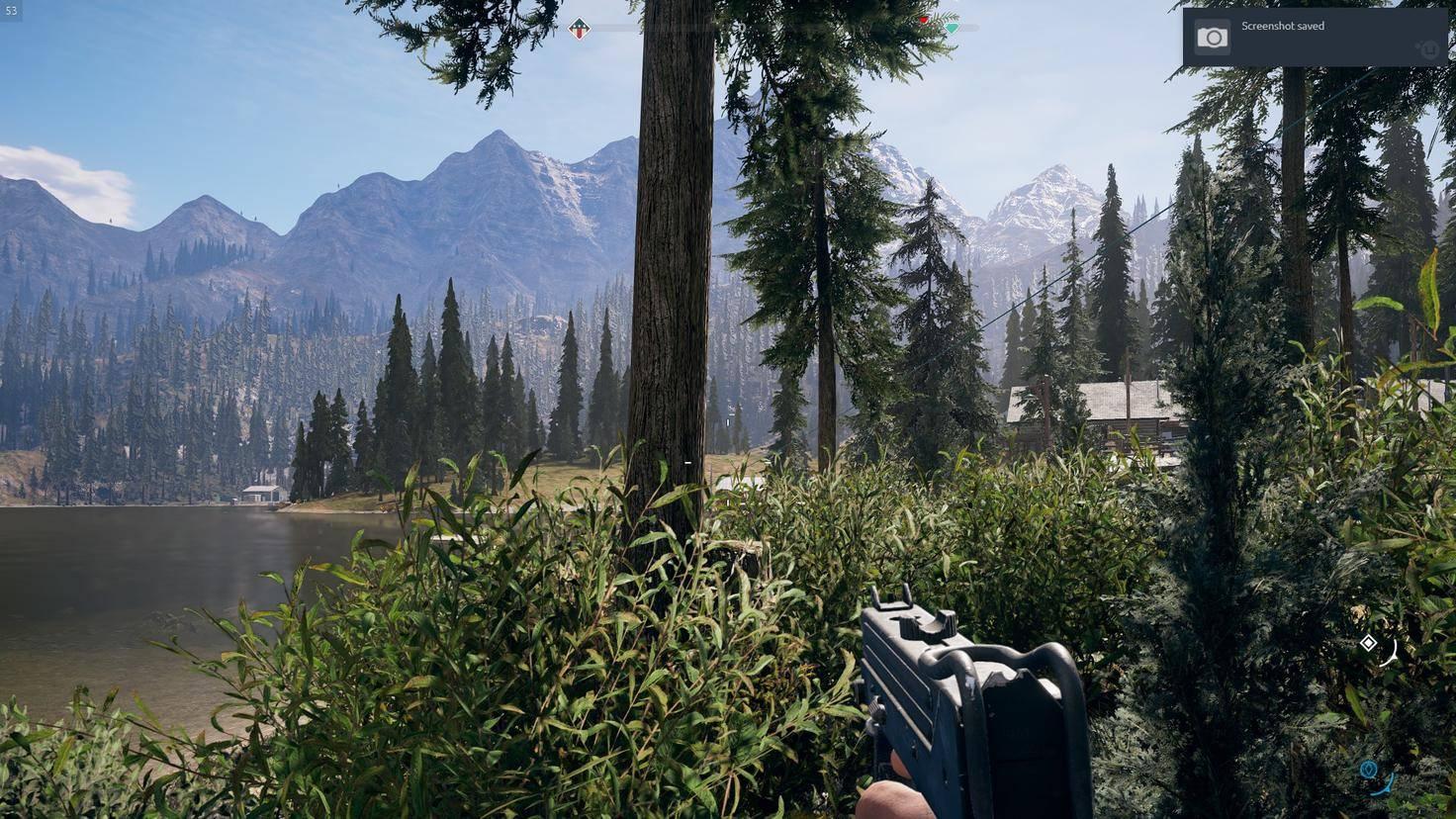"""Das virtuelle Montana in """"Far Cry 5"""" ist ein Augenschmaus, aber ständig will mir hier jemand an den Kragen."""