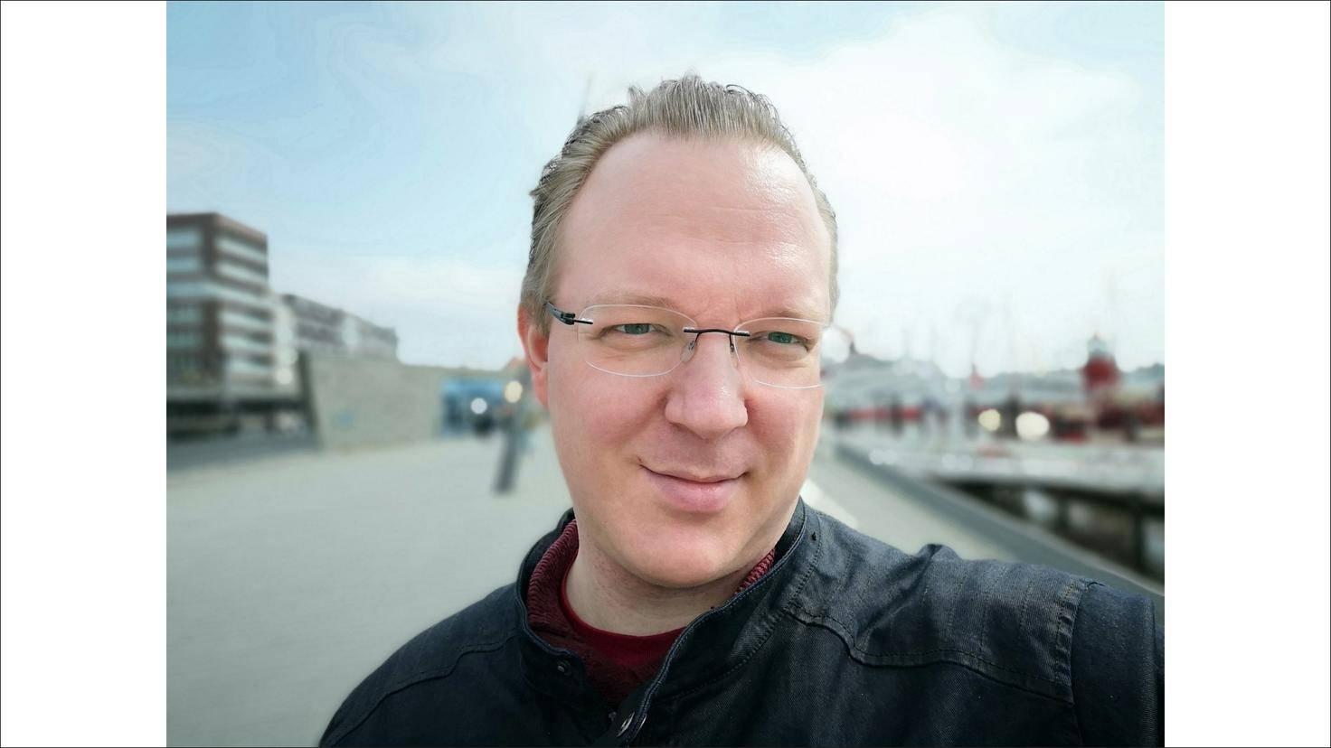 Huawei P20 Pro Andreas Müller Selfie 4
