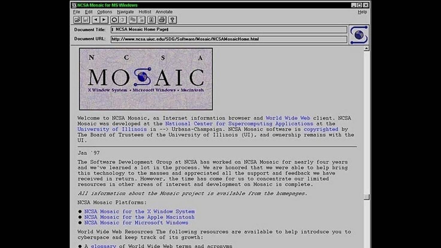 Mosaic-Browser