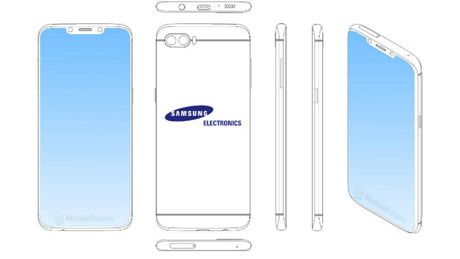 Samsung Patent Notch