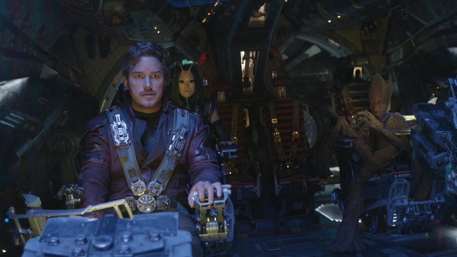 Sogar die Guardians of the Galaxy mischen mit.