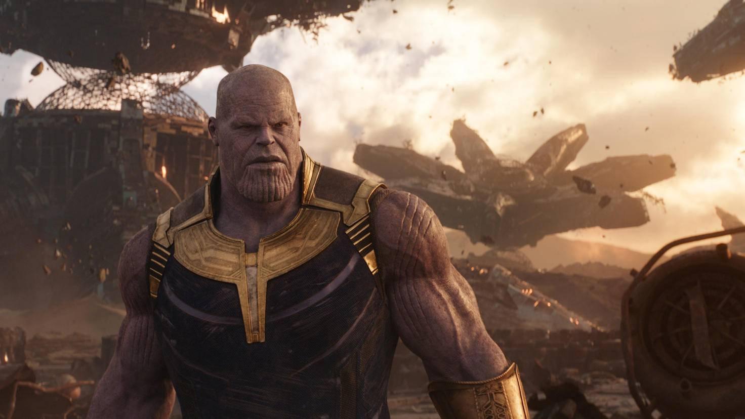Thanos Szenenbild Avengers Infinity War