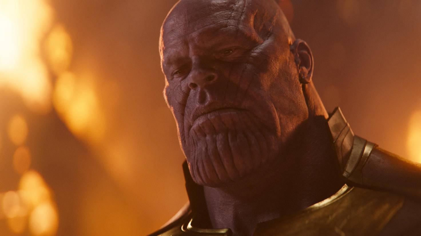 ... Thanos ist ihr bislang härtester Gegner.
