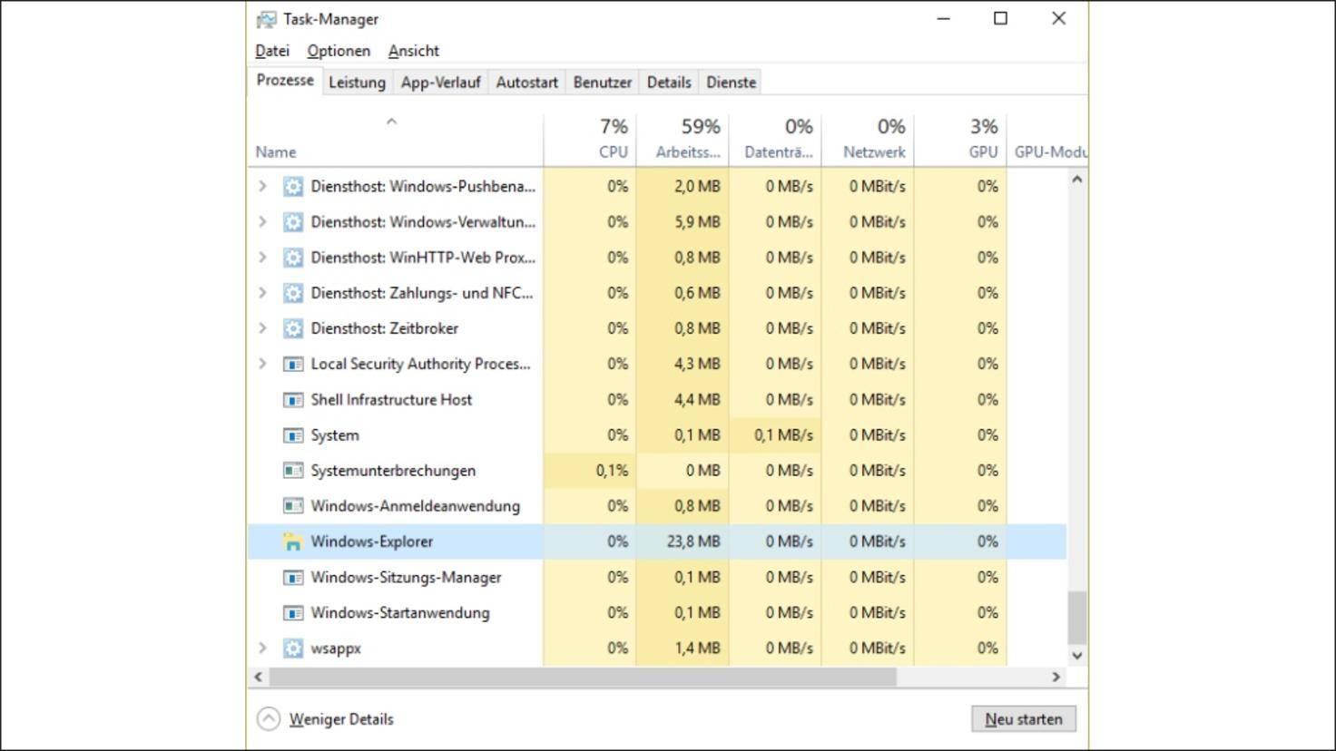 Windows-10-Windows-Explorer-Neustarten