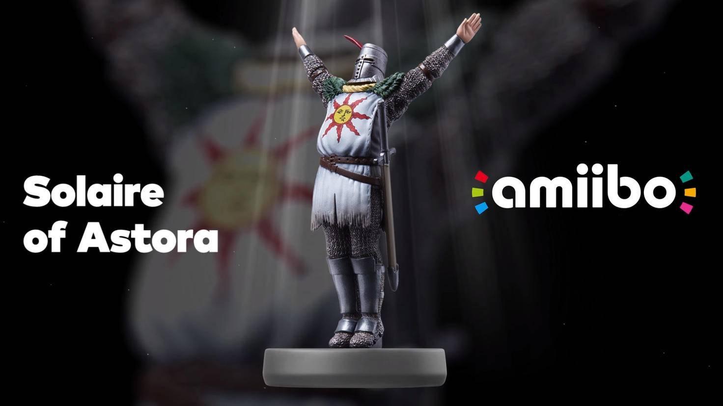 Preiset die Sonne! Solaire von Astora wird zum Amiibo.