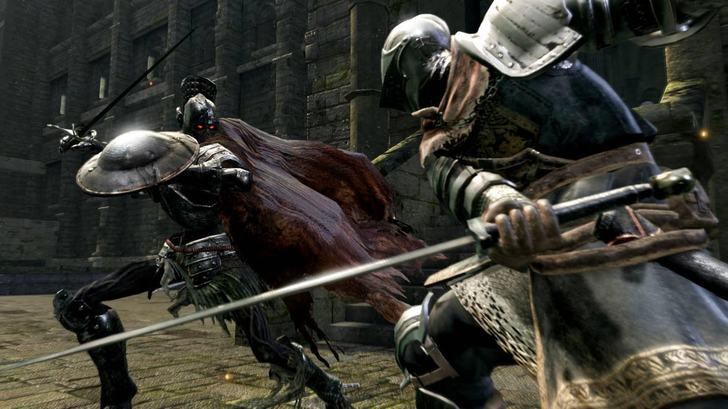 """Schnelles Ausweichen und gezielt gesetzte Schläge sind das A und O in """"Dark Souls""""."""