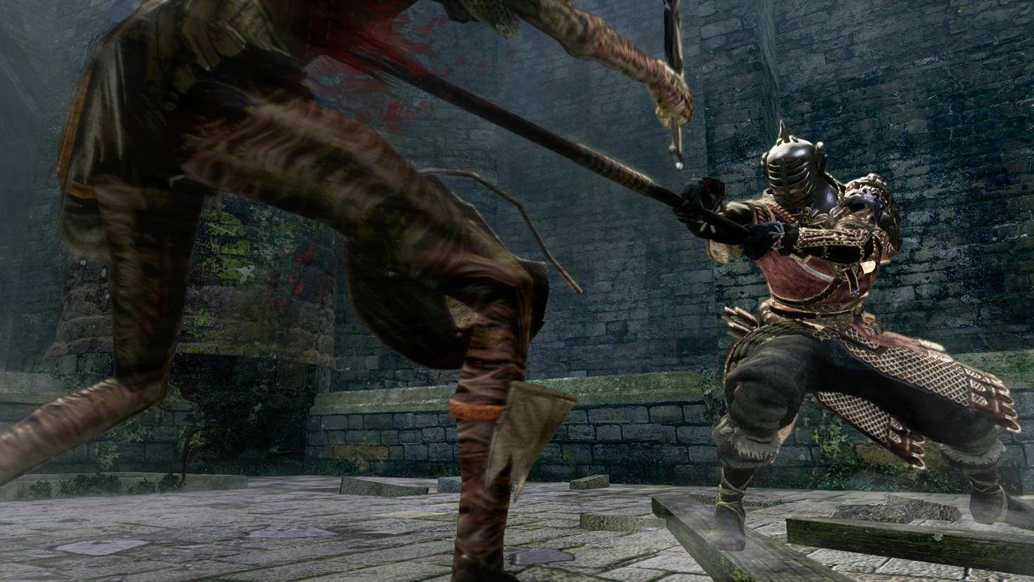 """""""Dark Souls"""" ist berüchtigt für seine Bosskämpfe, aber auch kleine Gegner sind gefährlich."""