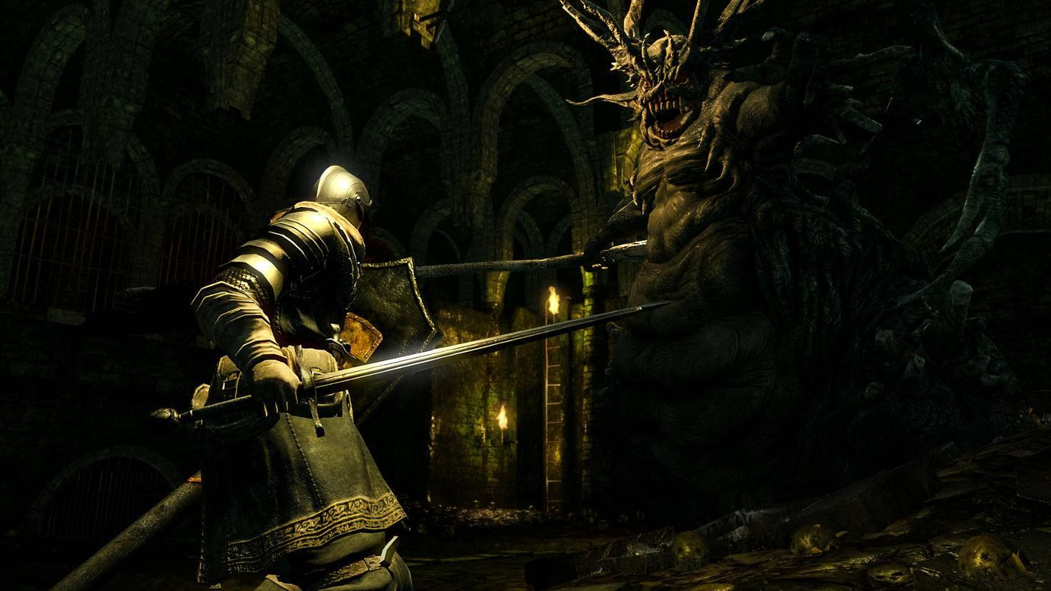 """Für Anfänger in """"Dark Souls"""" empfiehlt sich eine Klasse mit hoher Schadensresistenz."""