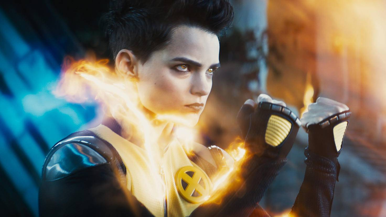 """Deadpool 2""-Szenenbild mit  Negasonic Teenage Warhead"