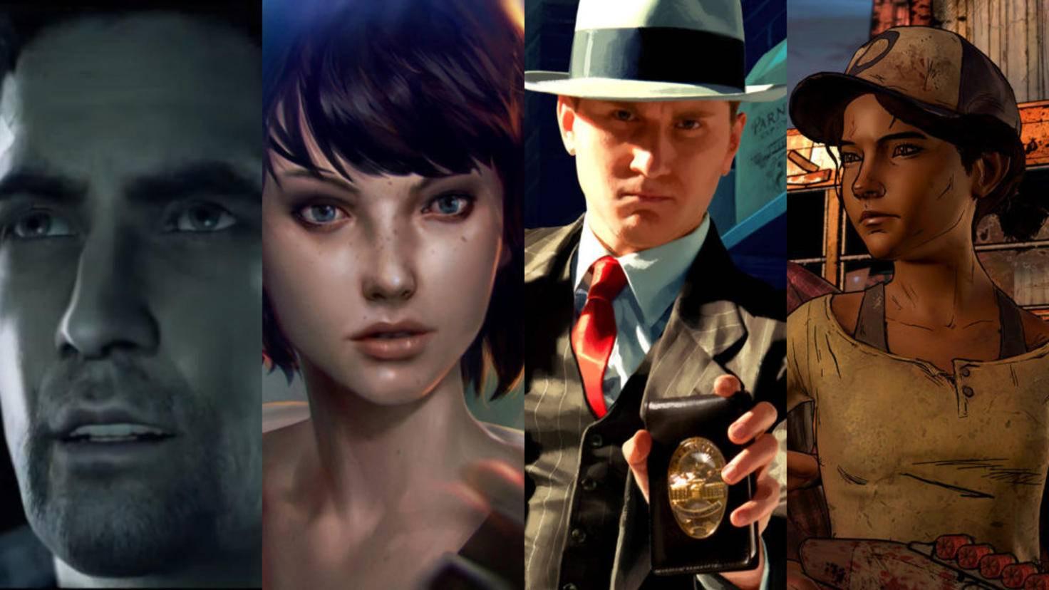 """Von """"Alan Wake"""" bis """"Telltale's The Walking Dead"""": Spiele mit fesselnden Stories gibt es viele – auch für PC und Xbox One!"""