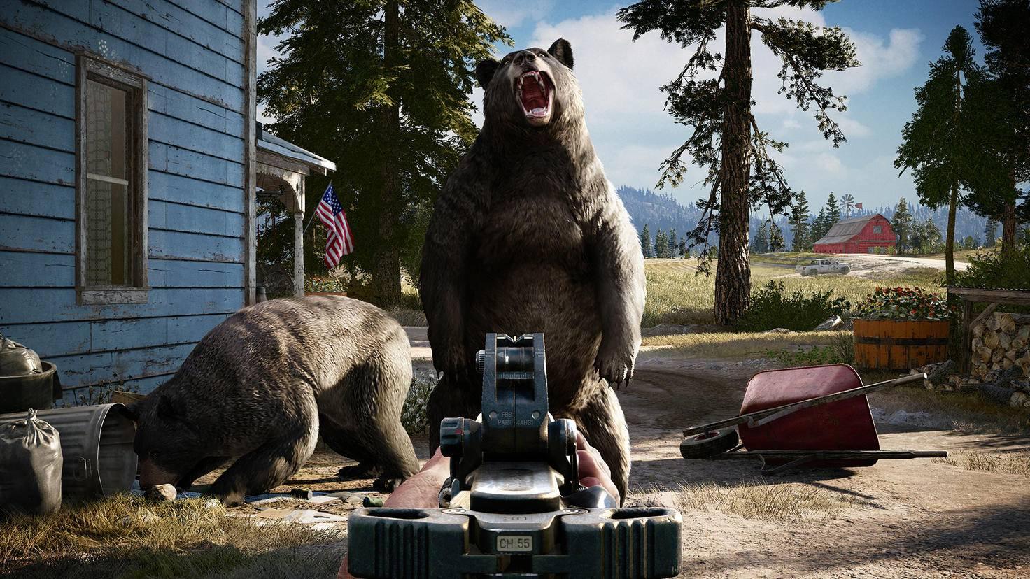 Darf's ein bisschen Bär sein? Mächtige Gegner sollten mit Bedacht auf der Map platziert werden.