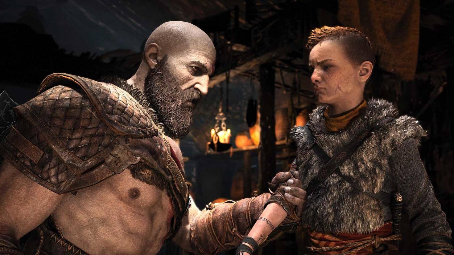 Kratos und Atreus pflegen eine etwas komplizierte Vater-Sohn-Beziehung. Kommt es im Nachfolger möglicherweise zum Eklat zwischen den beiden?