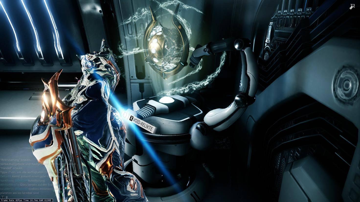 Das Void-Relikt-Segment Deines Schiffs ist die erste Anlaufstelle für Prime-Teile.