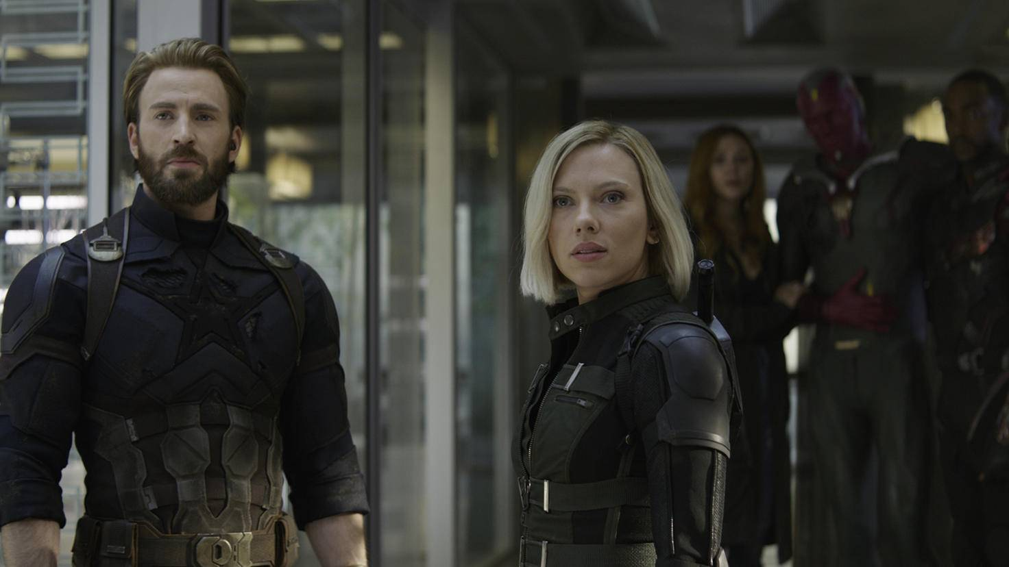 Cap und Black Widow in Avengers Infinity War