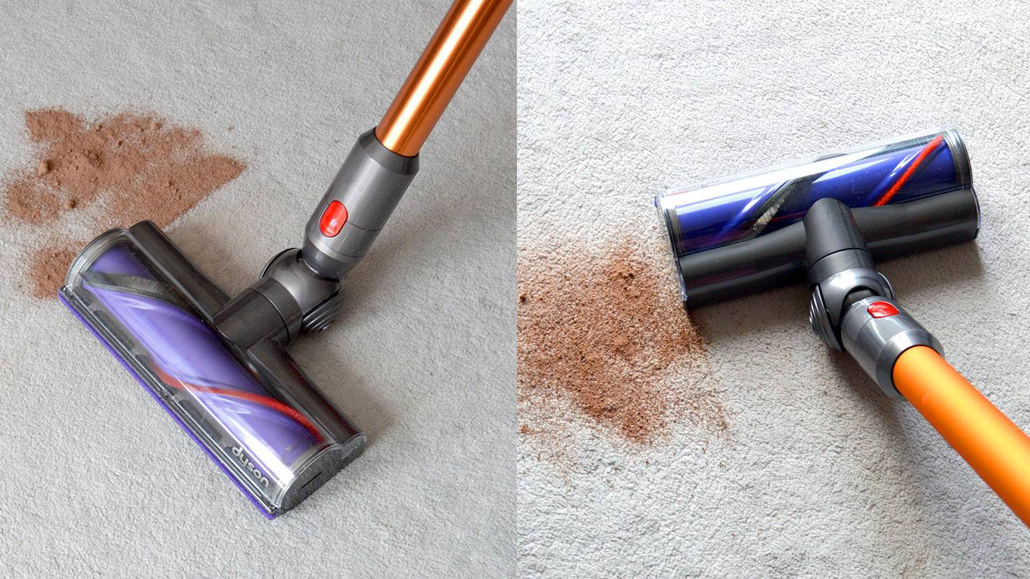 Dyson Cyclone V10 Absolute-Dyson V8 Absolute-Kakao-TURN ON