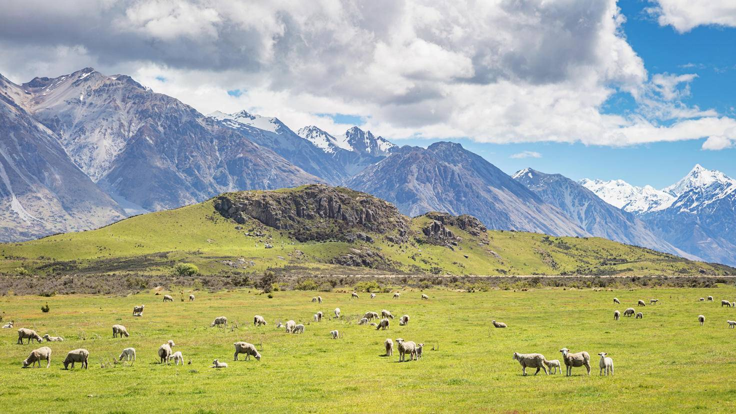 Edoras-Herr der Ringe Drehorte-Neuseeland-Mlenny-GettyImages-856571402