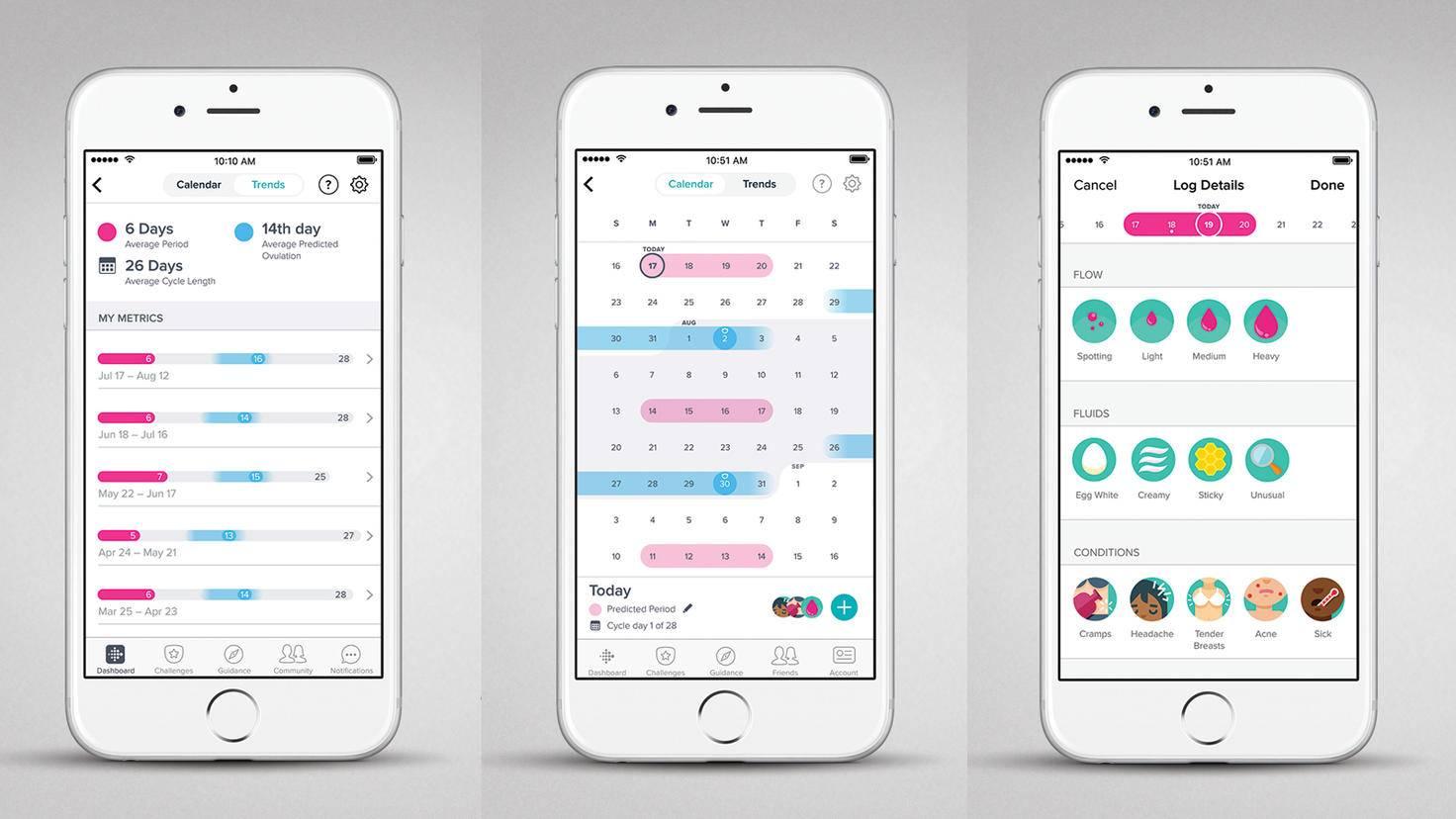 Fitbit Versa-Female Health App-Fitbit