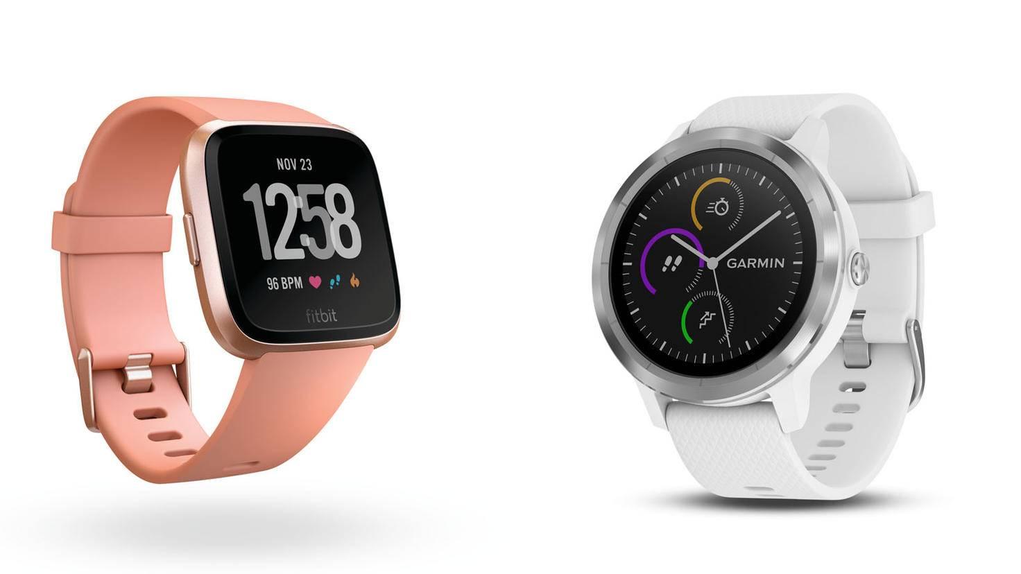 Fitbit Versa-Fitbit-Garmin Vivoactive 3-Garmin