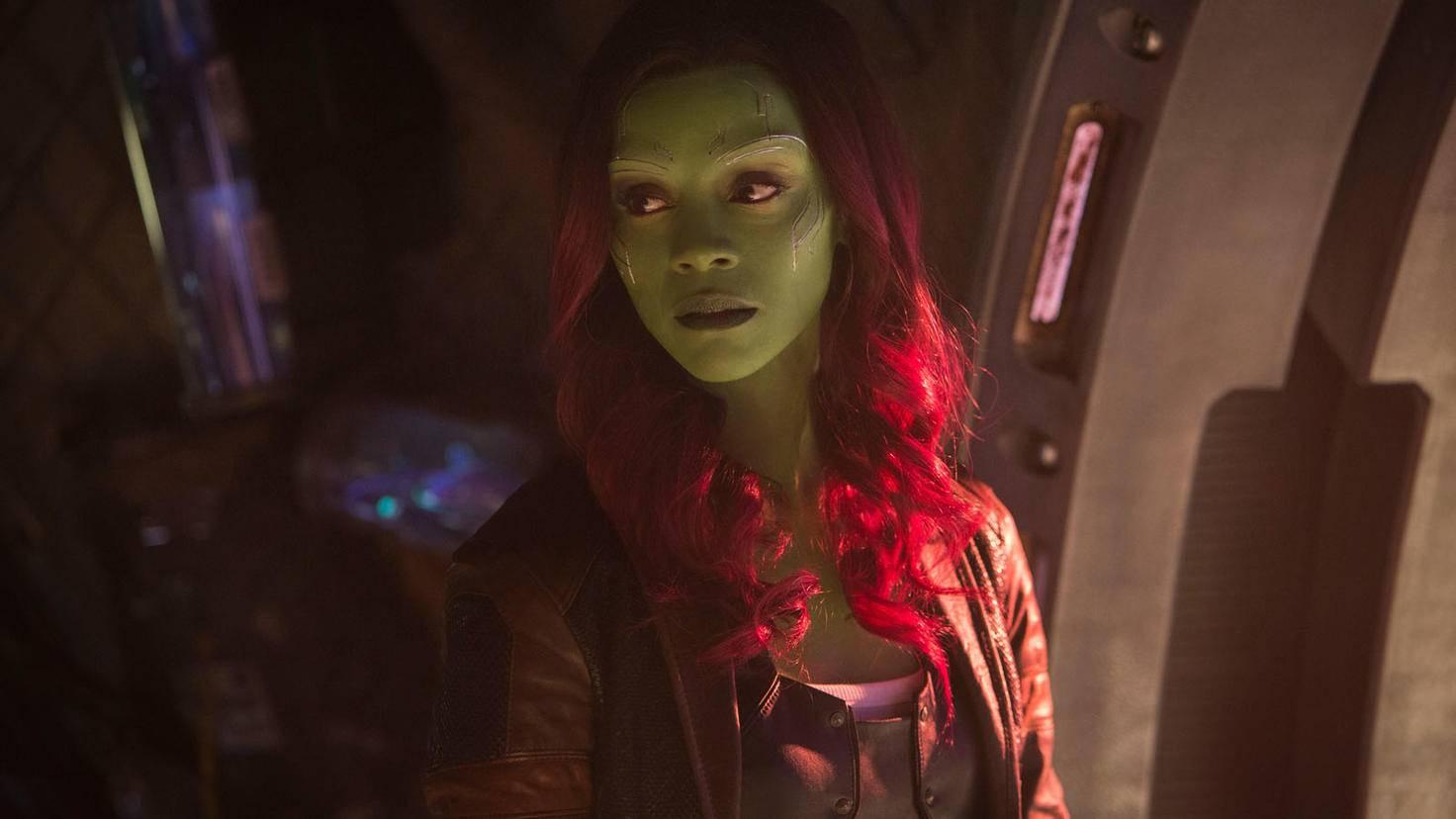 Gamora in Avengers Infinity War