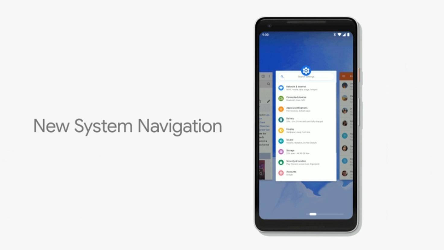 Google-Android-9-P-Gestensteuerung