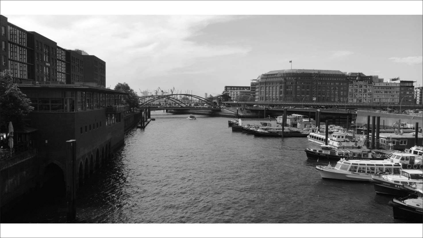 Schweiß-Weiß-Aufnahmen eignen sich zum Beispiel für Stadt- und Landschaftsimpressionen.